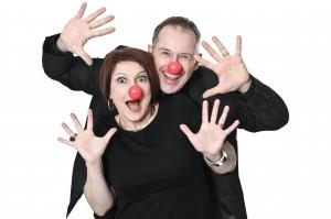 Alexandra Larson & Gustav Larson, clown